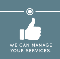 We can manage your services